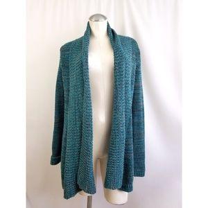 Calvin Klein Size S Open Cardigan Sweater